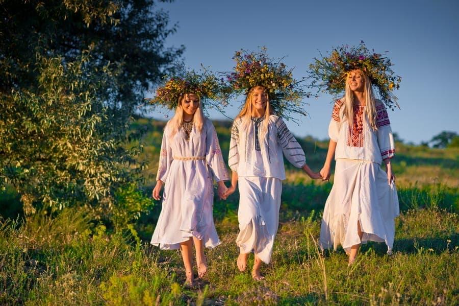 Праздник Ивана Купала, национальные костюмы, фотограф Фролов Дмитрий